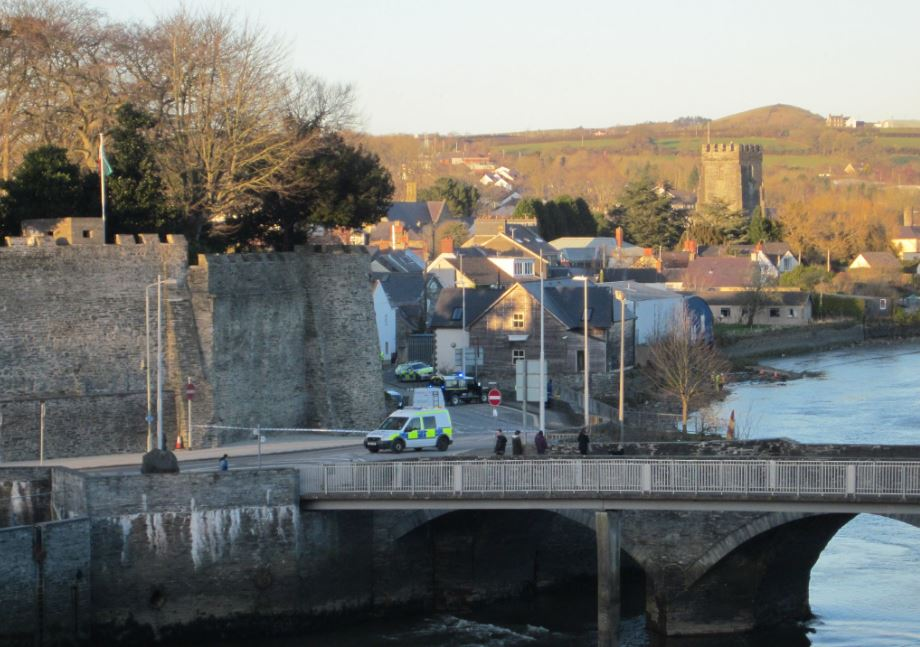 Two year old rescued from vehicle in river Teifi in Cardigan dies